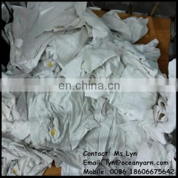 white cleaning cotton rags cotton wiping rag popular cotton wiper rag