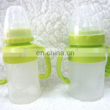 BPA free silicone baby bottle