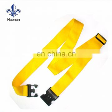 Luggage parts pp bag strap luggage strap with plastic buckle
