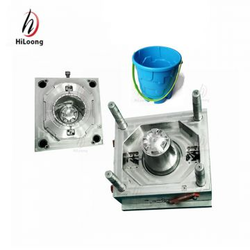10L bucket plastic injection molding huangyan mold company