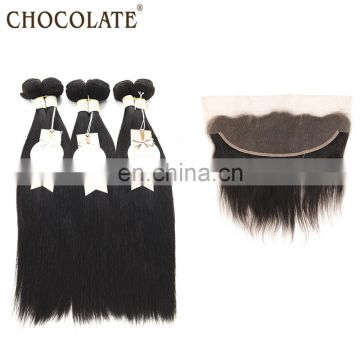 hot sell free sample hair bundles, 3 pcs virgin hair bundles with lace closure high quality brazilian hair bundles