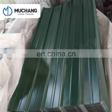 Carbon Steel Color Used Galvanized Corrugated Sheet