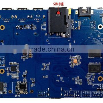 SMDT RK3188 Chip 3G Quad Core ARM Control Board of PCBA board from