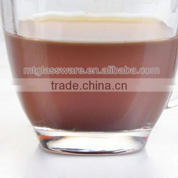 New design machinemade glass coffee cup,glass tea cup