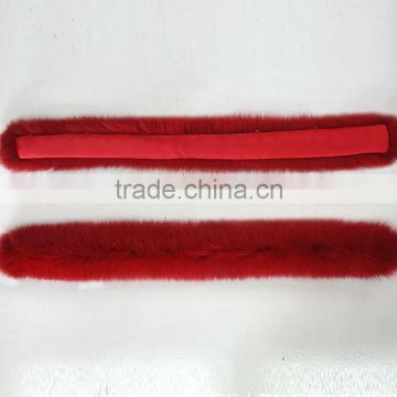BBG-H-23 Excellent China Supplier OEM Service High Quality Real Fox Fur Trim For Hood