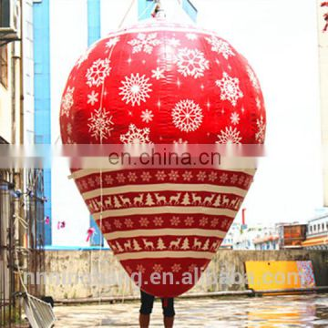 Christmas shopping mall decoration inflatable balloon