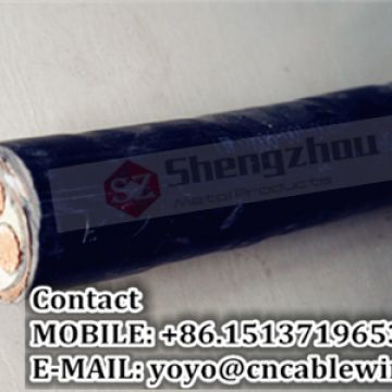 0.6/1 kV 4 Cores XLPE Insulated STA Power Cable