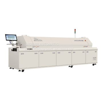 reflow oven, 8 heating zone reflow solder equipment for PCBA