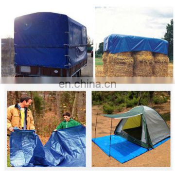 1.8 x1.8m household blue waterproof multipurpose tarpaulin
