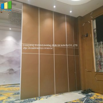 Banquet Hall Classroom Movable Wall Divider On Wheels For Art Gallery