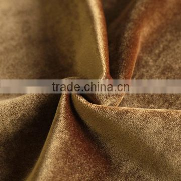 Haining Factory Direct Selling Shiny Italian Velvet Upholstery Fabric For Home Textile