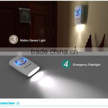 Contemporary Atmosphere Electronic Wireless Motion Sensor Long Range Doorbell With Home Security Alarm Induction System