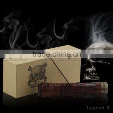 best vapor mod Legend V 30 W mod ,ego vaporizer pen Legend V