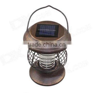 high efficiency outdoor led solar mosquito killer lamp
