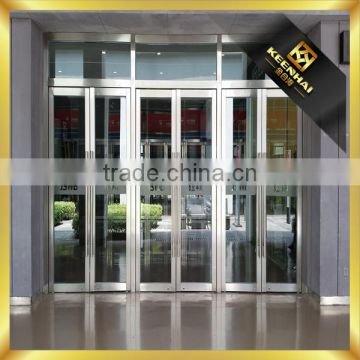 Bronze Coloed Stainless Steel Glass Door Frame Inox Door of Entrance ...