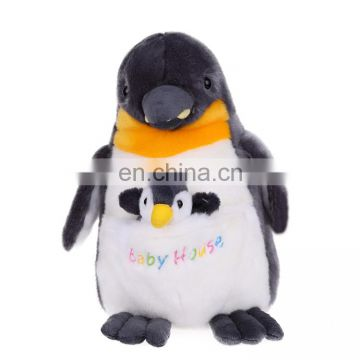 lovely soft plush penguin toys sea animal stuffed plush toys