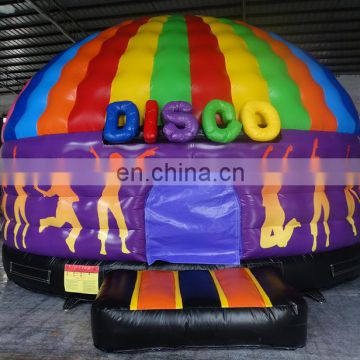 best quality commercial grade new design rock inflatable clown disco dome bouncer for sale