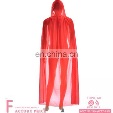 Chiristmas women party dresses Knitted red cope hooded cape witches cloak for women