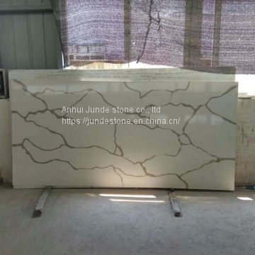 Calacatta artificial quartz stone for countertops