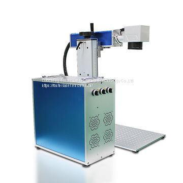 2017 most popular 20w color laser fiber marking machine with CE certificate