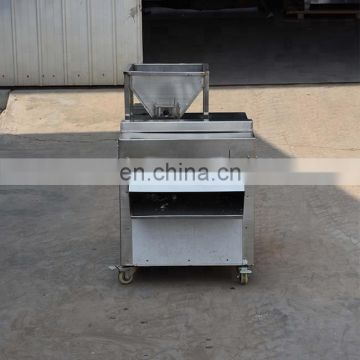electric badam slicer machine Peanut chip cutting machine