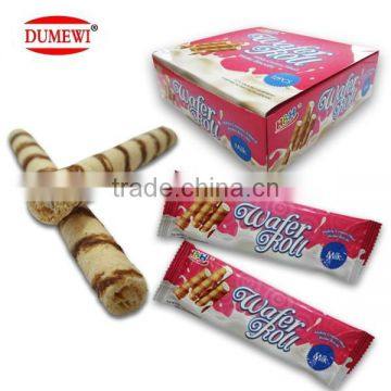 Milkly Wafer Egg Roll Cream Biscuits