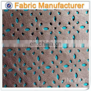 leather bag fashion design pu garment fabric leather pu fabric