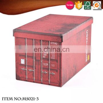 Unique design large space hard paper high-quality handmade paper ,Toy box,,Necessary to move ,storage box 2