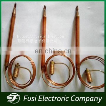 Copper tube Thermostat for storage water heater gas control valve