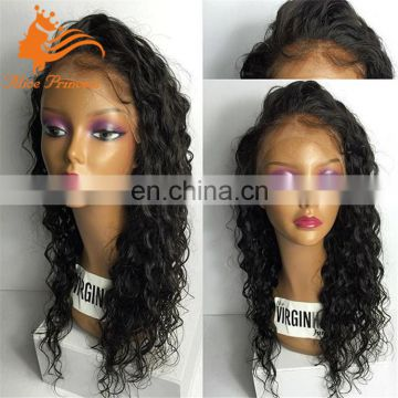 grade 8A Brazilain Human Full Lace Wig For Black Woman Curly Lace Front Wigs Baby Hair
