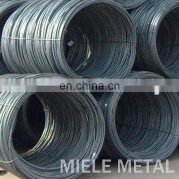 6.5mm SAE 1010 hard drawn wire rod for nut and srcew