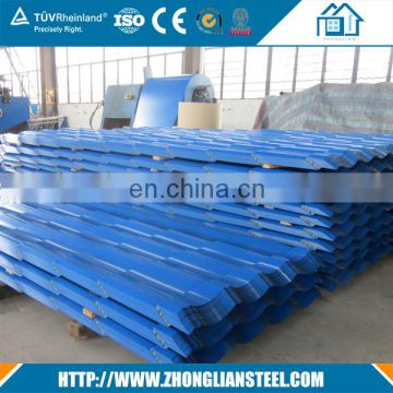 cheap 20 24 26 gauge galvanized thin corrugated steel sheet with price