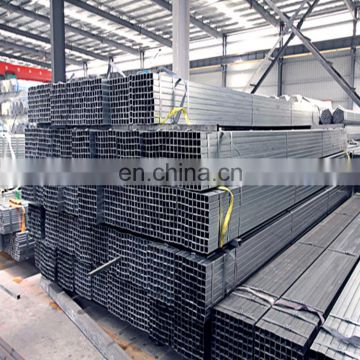 hot dipped Galvanized Welded Rectangular / Square Steel Pipe / Tube / Hollow Section