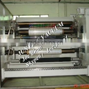 cellophane/scotch tape roll vacuum coating machine/coater with rewinder, Ningbo factory with good After-sale Service