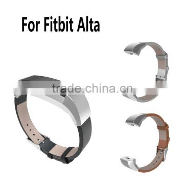 High Quality Watchbands Colors Luxury Genuine Leather Band Strap Bracelet For Fitbit Alta Tracker of Replacement Band Strap from China Suppliers - 136671655