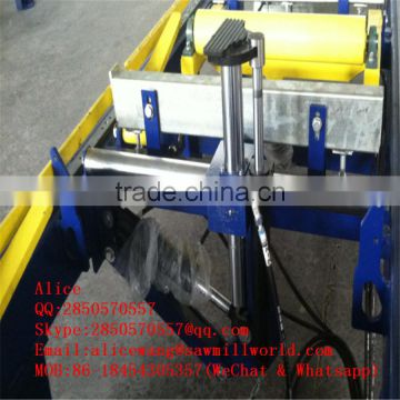 Chinese Manufacture Full automatic horizontal portable wood band sawmill