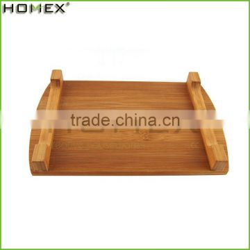 Factory supply sushi tray bamboo food tray/cheese cutting board/bamboo cutting board/Homex_Factory