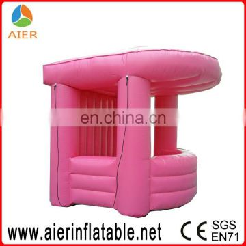 Easy build booth tent, inflatable booth for advertisement, simple inflatable booth tent