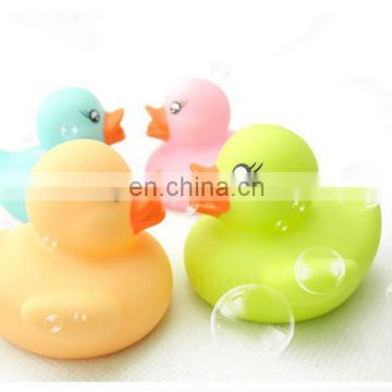 Custom rubber yellow duck toy, OEM plastic rubber duck toy, Custom plastic funny rubber duck toys