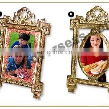 BRASS PLATED PHOTO FRAME