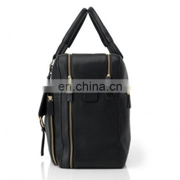 Two compartments one shoulder strap handbag