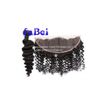 New stock bangs lace closure glue,hot sale human hair with closure,wholesale lace front closure bohemian hair piece lace