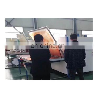 PVC film laminating machine on the door MDF panel vacuum membrane press machine 10