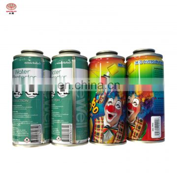Hot  sale empty mini aerosol can with diameter 52mm for hair colour spray
