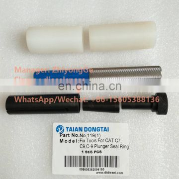 No,119 Fix Tools For  C7,C9,C-9 Plunger Seal Ring