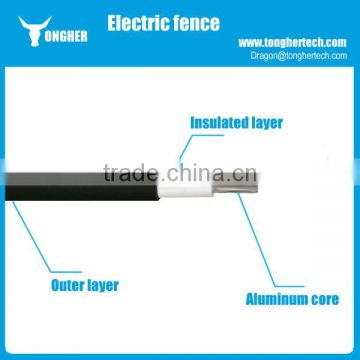 Double insulated 20KV high voltage electric fence lead out cable for ...