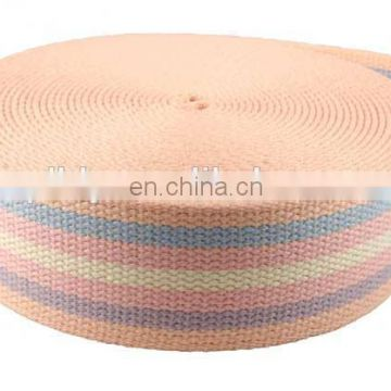 Multi-color Wholesale inelasticity high strength nylon webbing tape