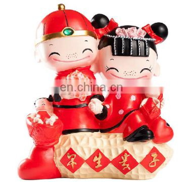 Chinese lovely new couple wedding decoration