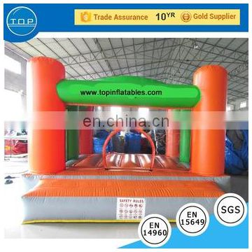 TOP INFLATABLES Hot selling inflatable bouncy castle with airflow bouncer plastic water slide