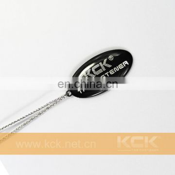 KCK Gold bracelet tag gold necklace SEAL LOCK